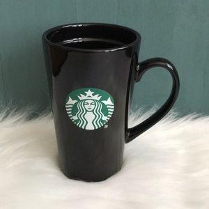 Starbucks Kitchen - Starbucks tall black logo mug